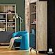 漢妮Hampton艾爾賓系列工業風三抽書櫃-81x30x181cm product thumbnail 1