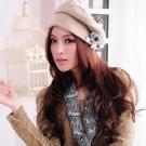 Aimee Toff 優雅投足精點裝飾造型帽(棕)