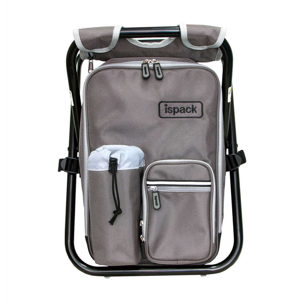 ispack戶外機能背包椅 - 灰色