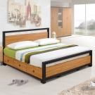 Homelike 黑森林床架組-雙人5尺(不含床墊)