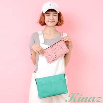 KINAZ 繽紛果漾斜背包-西瓜綠-熱帶水果系列
