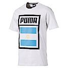 PUMA-足球系列國旗短袖T恤-阿根廷(M)
