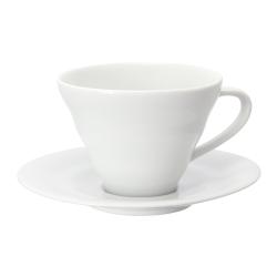 HARIO V60白色雲朵咖啡杯盤組 CCS-1W