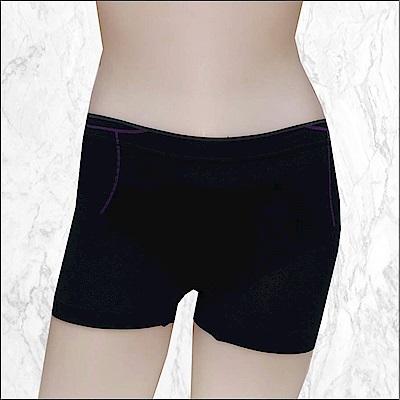 BVD Ladies  COOL & LIGHT系列 低腰平口內褲(黑色)