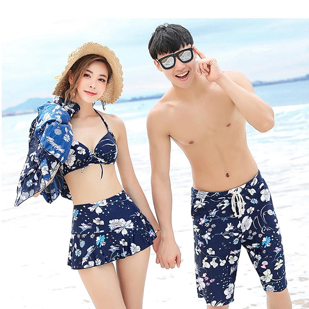 Biki比基尼妮泳衣    風中有罩衫情侶泳衣情侶泳衣(女生購買區)