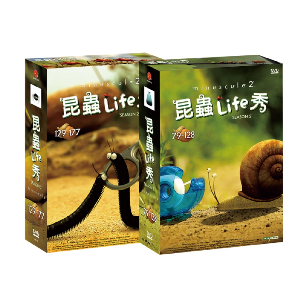 昆蟲Life秀 第2季[79-177話] DVD [附導讀手冊]