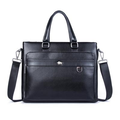 DRAKA 達卡 -完美極黑- 斜背手提筆電公事包