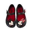 迪士尼 米奇米妮 立體造型娃娃鞋-黑