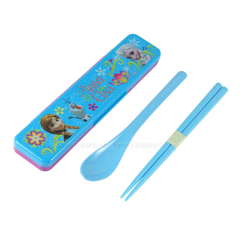 Skater湯匙筷子組(附盒) 冰雪奇緣