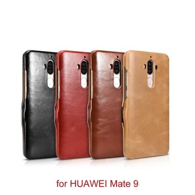 XOOMZ 復古系列HUAWEI華為Mate 9磁扣側掀手工真皮手機皮套