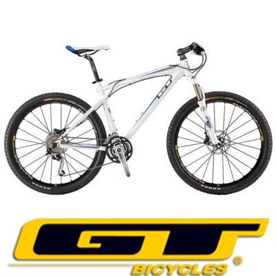 GT ZK-PRO B 鋁合金Shimano27速油壓碟剎登山車(競速白)