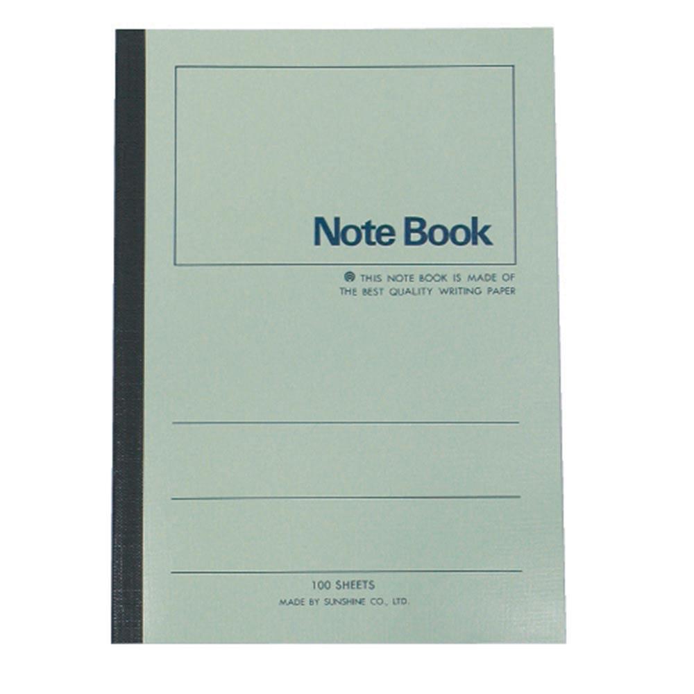 【加新】3PF18060 18K 60入 綠色 平裝筆記本(1包10本)