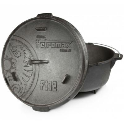 PETROMAX FT12 DUTCH OVEN 鑄鐵荷蘭鍋14吋(有腳)