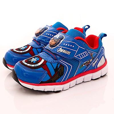 MARVEL 鋼鐵人電燈運動鞋款-EI5126藍(中小童段)