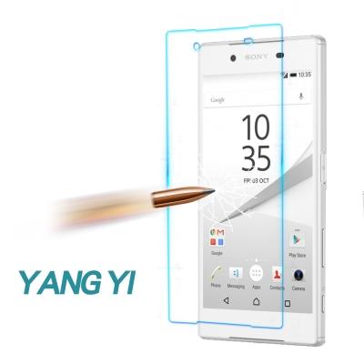 YANG YI 揚邑 Sony Xperia Z5 防爆防刮防眩弧邊 9H鋼化玻璃保護貼