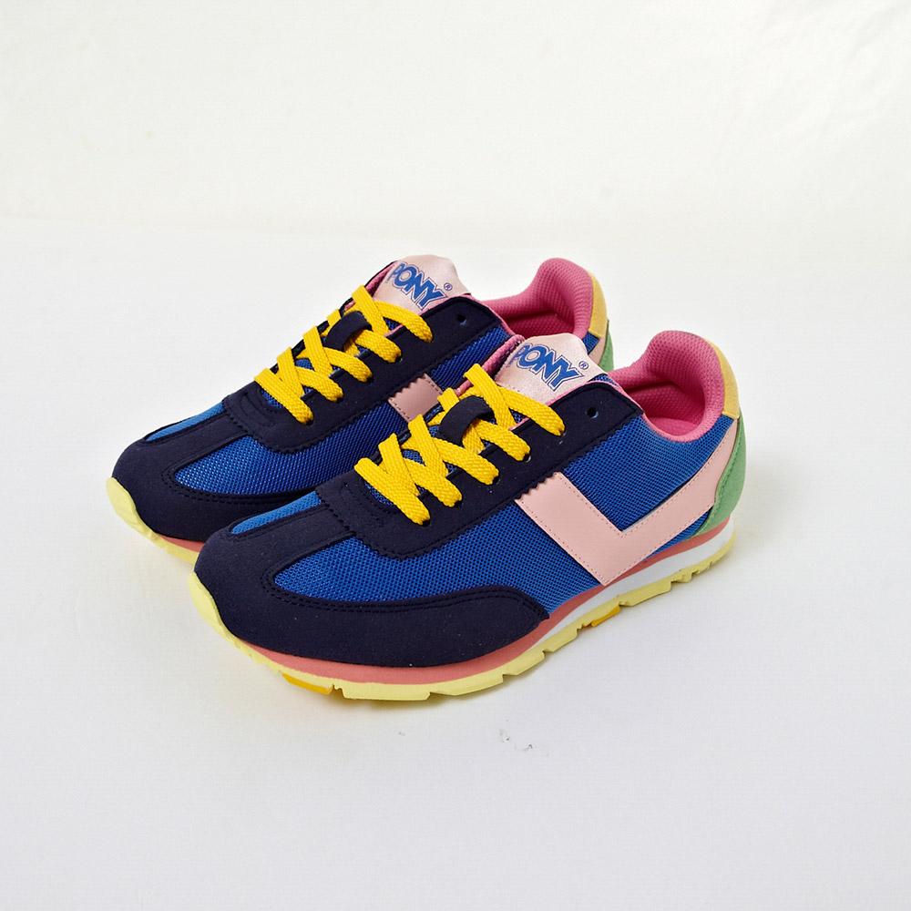 PONY_SOHO系列-品牌經典鞋款全新配色慢跑鞋-海軍藍(女)