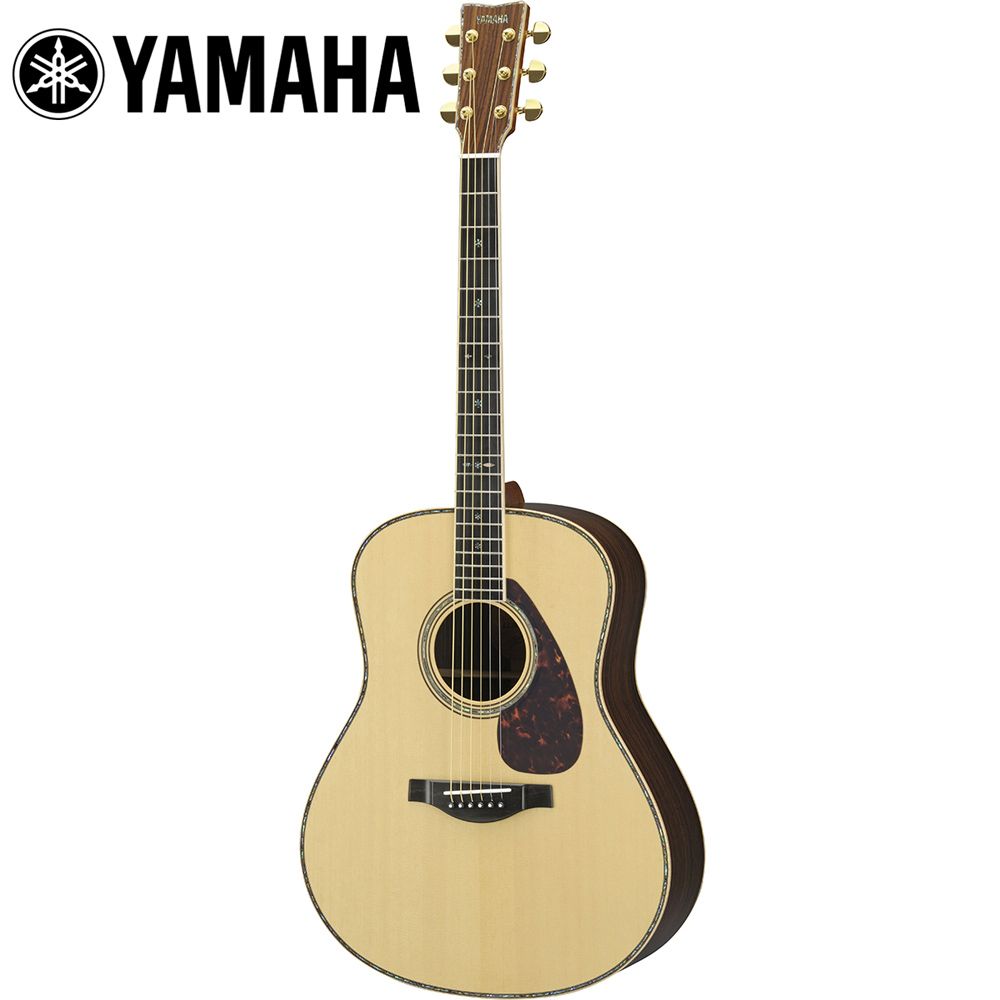 YAMAHA LL56 Custom ARE 高階手工民謠木吉他 雲杉木色
