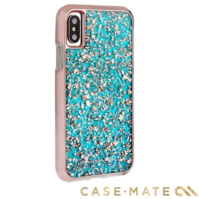 美國 Case-Mate iPhone X Karat 防摔手機保護殼 - 藍綠...