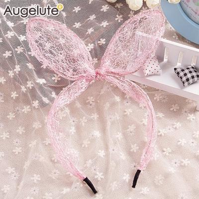 baby童衣 立體紗網兔耳朵髮箍 30839