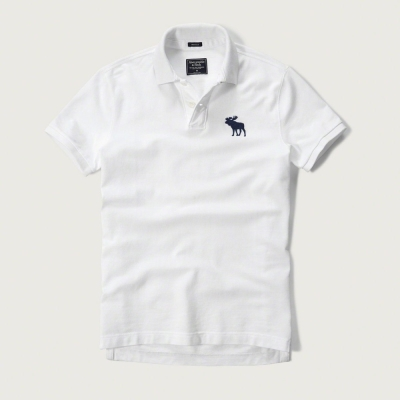 AF a&f Abercrombie & Fitch 短袖 POLO 白色 181