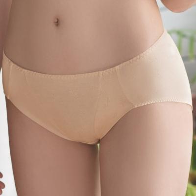 華歌爾 IEARTH環保咖啡紗 M-LL中腰三角褲(拿鐵咖啡)
