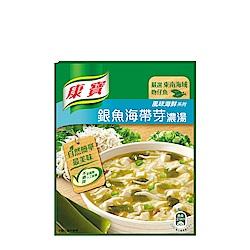 康寶濃湯 自然原味銀魚海帶芽(2入)