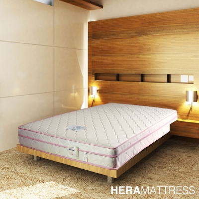 HERA Sarah舒柔布三線獨立筒床墊  雙人加大6尺