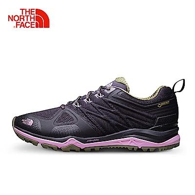 The North Face北面女款粉色緩衝穩定徒步鞋