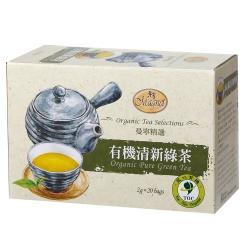 曼寧有機清新綠茶(2gx20入)