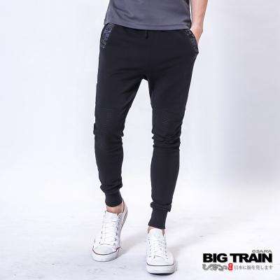 BIG TRAIN 和柄忍者褲-男-黑