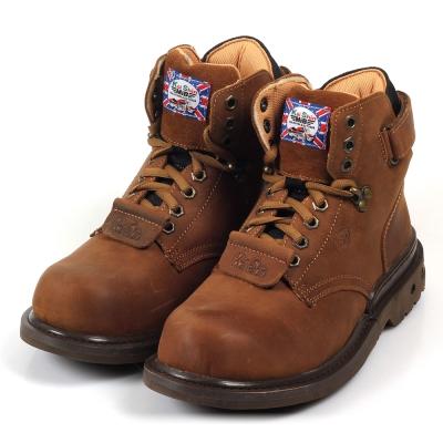 Kai Shin 高筒舒適安全工作鞋 褐色