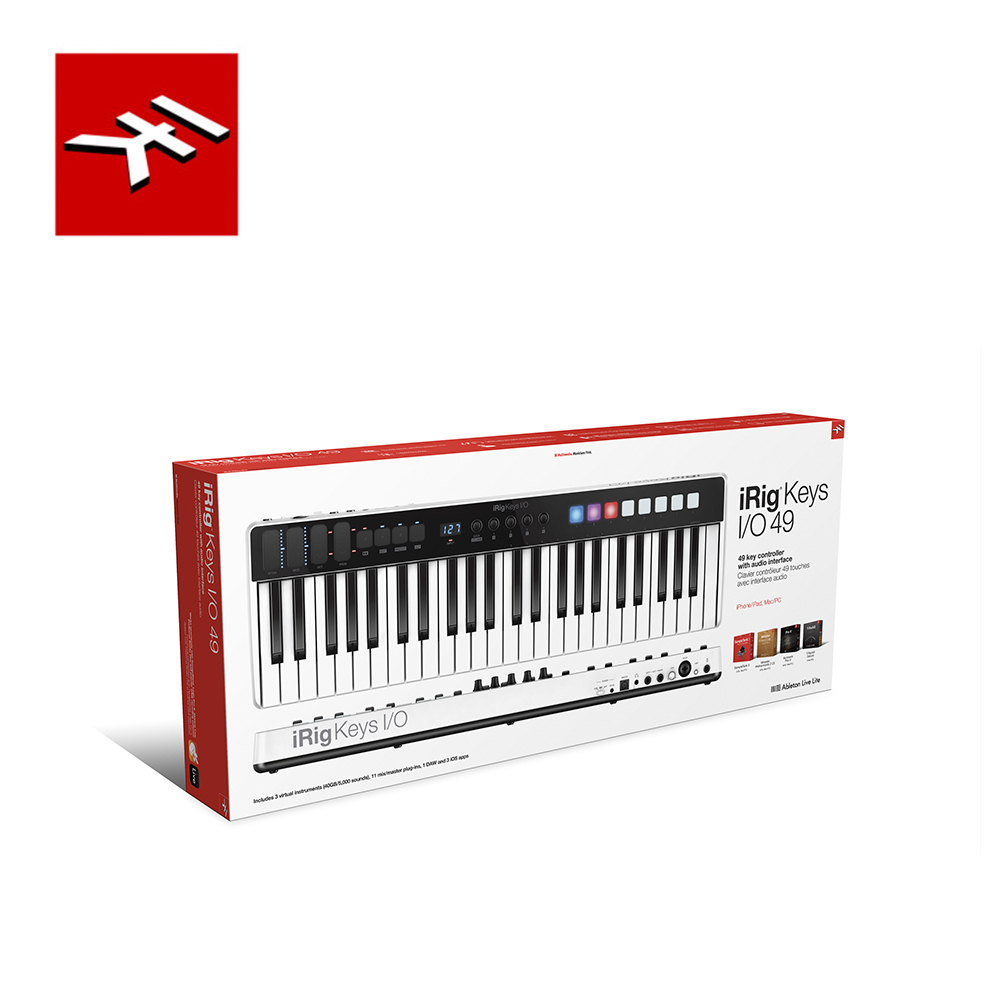IK Multimedia iRig Keys I/O 49 多功能控制鍵盤 49鍵