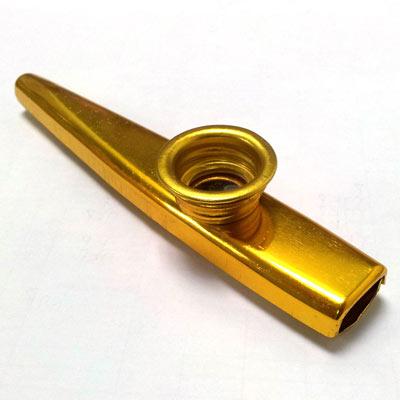 【輕鬆玩音樂】 金屬製 Kazoo笛 卡祖笛 最簡單伴奏樂器(2入)