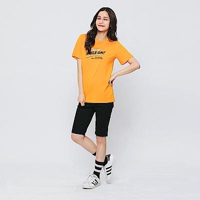 Hang Ten - 女裝 - 素色及膝短褲-黑色