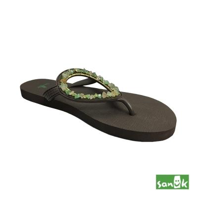 SANUK 寶石人字拖鞋-女款(綠色)