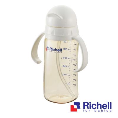 Richell日本利其爾 PPSU吸管型奶瓶320ml