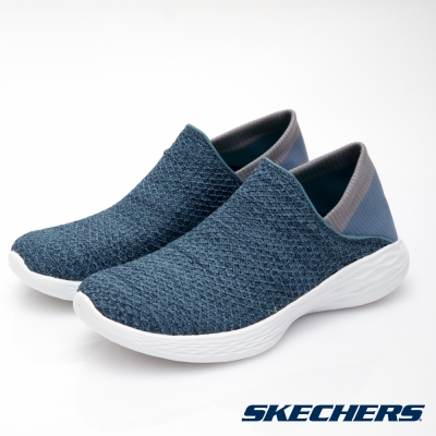 SKECHERS (女) 健走系列 YOU - 14952BLU