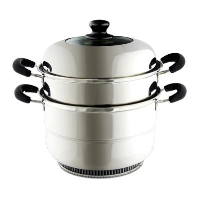 鍋教授 瓦斯節能湯蒸鍋  24 X 16 cm( 304 不鏽鋼 節能鍋)