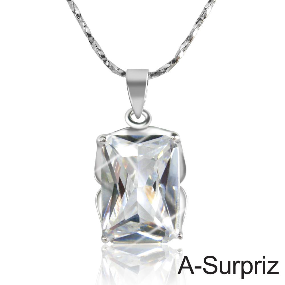 A-Surpriz 永恆真愛晶鑽項鍊