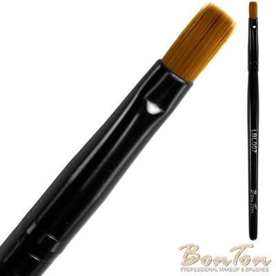 BonTon 墨黑系列 平唇刷 LBL007 貂色纖維直毛