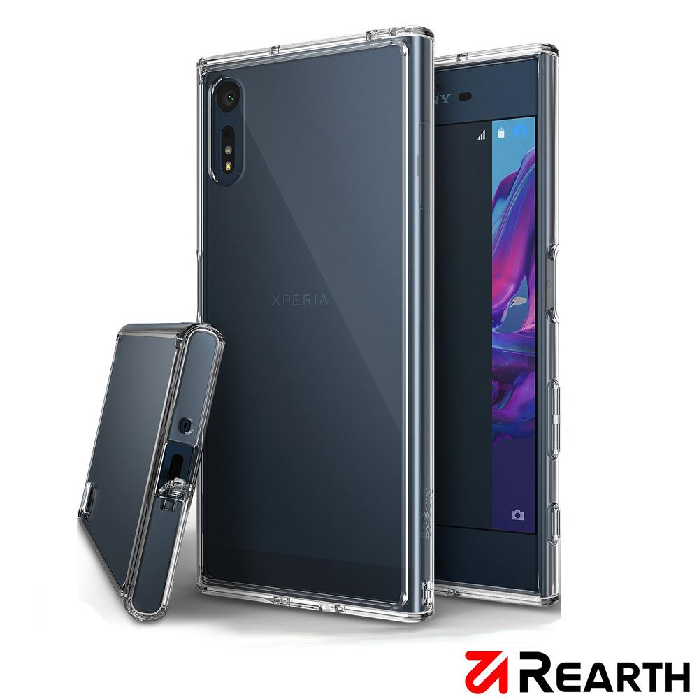 Rearth Sony Xperia XZ (Ringke Fusion) 透明保護殼