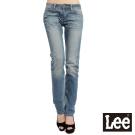 Lee 牛仔褲407 中腰合身小直筒 -女款(二手水藍)