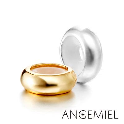 Angemiel安婕米 義大利純銀 固定珠 簡約