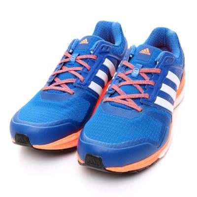 ADIDAS-SUPERNOVA男慢跑鞋-藍