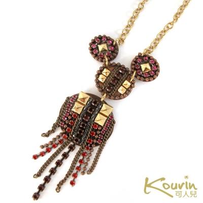KOURIN藝術系列-鄂圖曼風格紅寶石項鍊