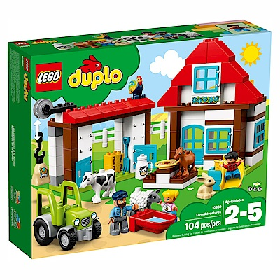 2018 樂高LEGO Duplo 幼兒系列 - LT10869 農場探險