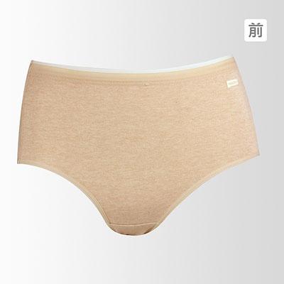 【黛安芬】Eco Chic裸紗原棉系列高腰褲 (膚)