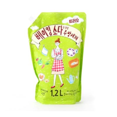 韓國AK 小蘇打廚房清潔洗碗劑1200ml