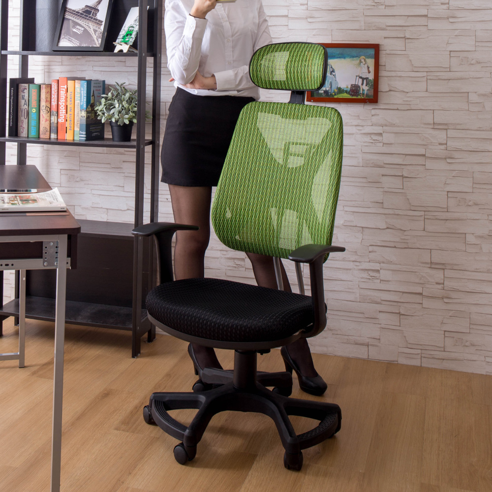 AS-帕多瓦6D扶手網布辦公椅