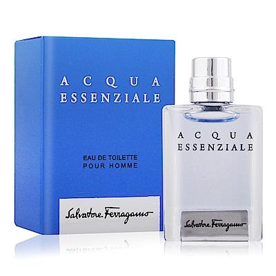 Salvatore Ferragamo 蔚藍之水男性淡香水5ML